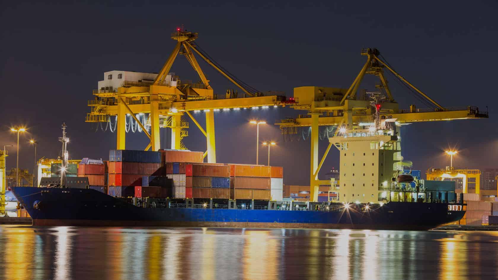 FFF Australia - International Strategic Sourcing Specialists container ship port crane loading