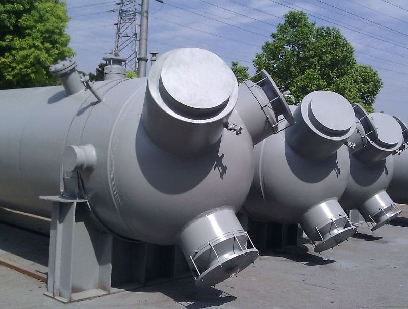 FFF Australia - Pressure Equipment - HP Feedwater Heater