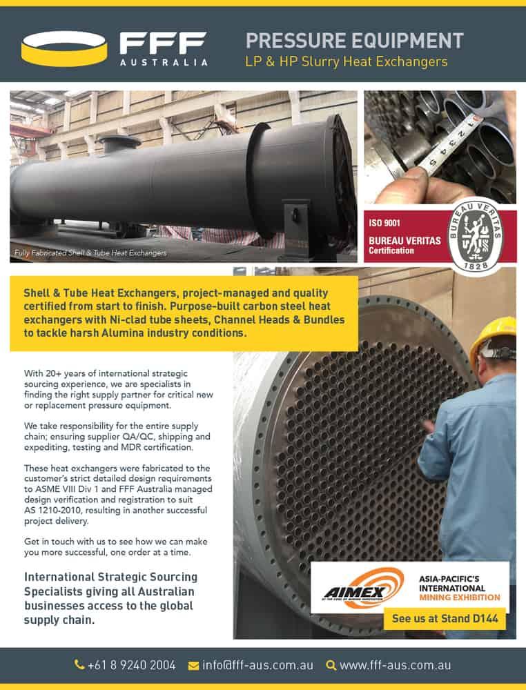 heatexchanger pressure vessel LP HP tubesheet tube bundle tubesheet